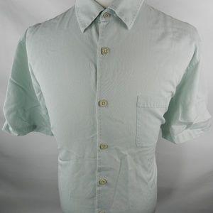 Nat Nast L Large Men's Shirt Button Down Gray